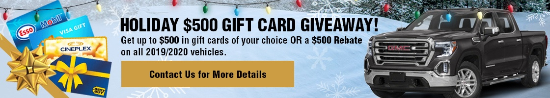 Holiday $500 Gift Card Giveaway!