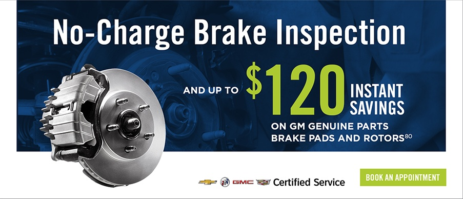 No Charge Brake Inspection